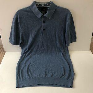 Men's H&M silk blend polo shirt